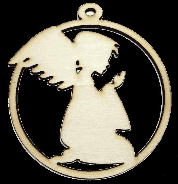 Božićni ukras- Anđeo